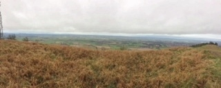 View from the Wrekin over the Shropshire Plain 1